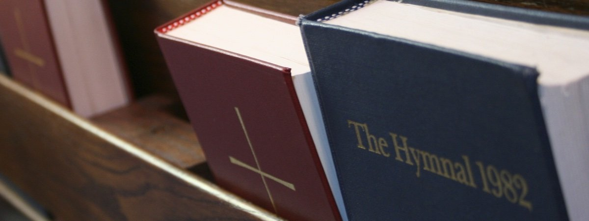Book of Common Prayer and Hymnal book